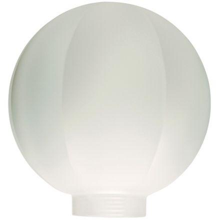 Globe D.100 Facettes Blanc Pd Vis 31,5Mm