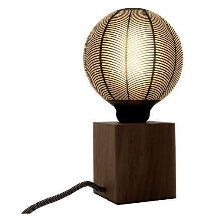 Ampoule LED motifs quartiers E27 G125 4W 130lm 2700K Dim