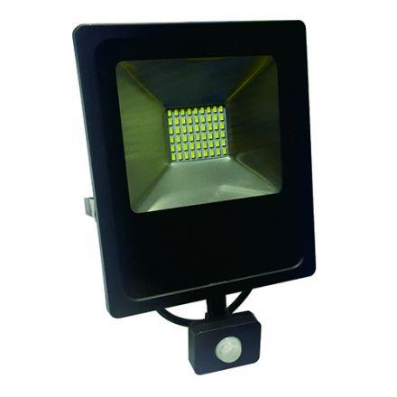 Isonoe - Projecteur LED IP65 180x58x240 30W 3000K 2400lm 120° Noir