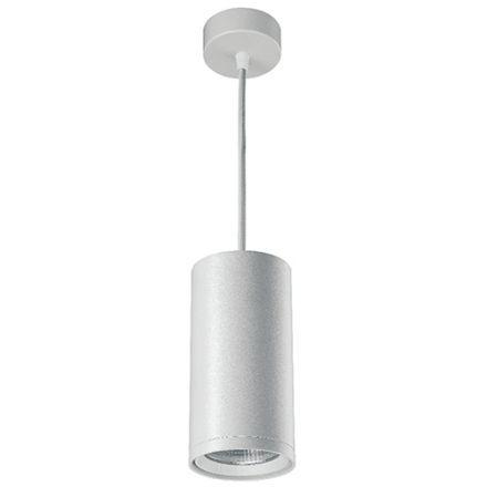 Atlas - Spot suspendu LED Ø85x2500 10W 3000K 1020lm 20° blanc