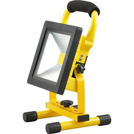 FS Isonoe - EcoWatts - Projecteur LED portatif rechargeable IP 65 298x160x184 20W 4000K 1000lm 120° jaune