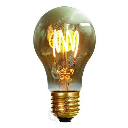 """Ampoule Standard E27 """"4 loops"""" LED 4W 2000k 160lm Smokey"""