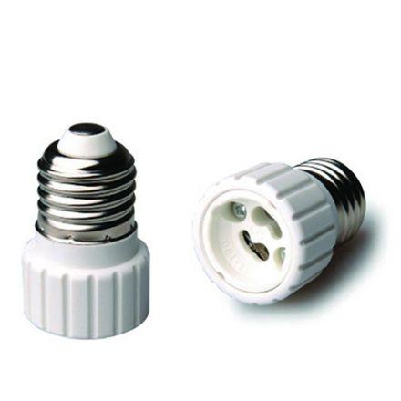 Adaptateur E27-GU10 Blanc