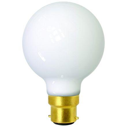 OPALINE Globe G80 Filament LED 7W B22 2700K 806lm