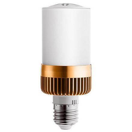 Ampoule Bluetooth Connectée Haut parleur LED 4,5W E27 - Couleur Or Rose