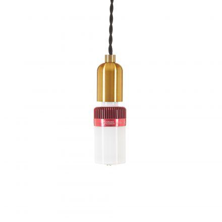 Ampoule Connectée Bluetooth Haut Parleur LED 4,5W E27 - Couleur Rouge