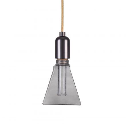 Ampoule VIS VERSA Triangle E27 D31,5mm 4W 100lm 2000k Smokey