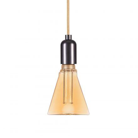 Ampoule VIS VERSA Triangle E27 D31,5mm LED 4W 200lm 1800k Ambrée