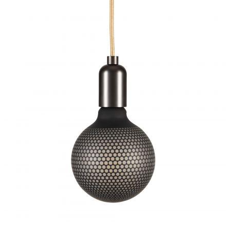 Ampoule LED IMPRIMÉE HEXAGONE E27 G125 4W 130lm 2700k Dimmable