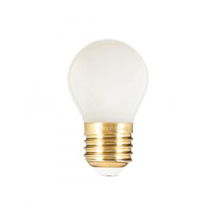 OPALINE Sphérique G45 filament LED 4W E27 2700K 400Lm