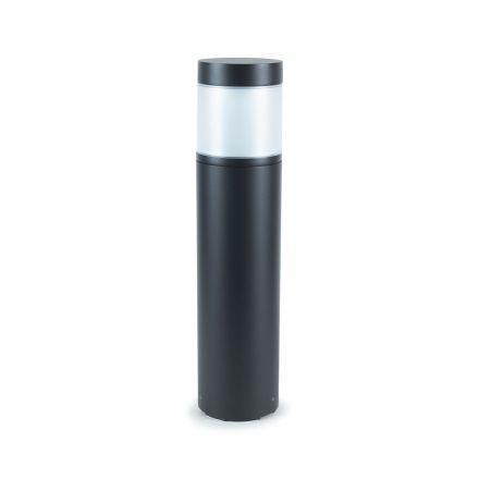 Lucia - Borne LED Ø118x500 12W 4000K 780lm IP65 140° noir