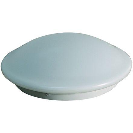 DOME - Plafonnier LED Ø350x115 18W 3000K 1400lm 120° Blanc