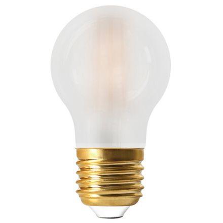 Sphérique G45 Filament LED 6W E27 2700K 780lm Dimmable Mate