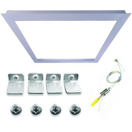 Cadre d'intégration pour Dalle LED 300x300 Acessoires de suspension inclus
