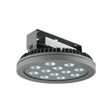 Ananke - Armature industrielle LED IP 66 Ø450x195 150W 4000K 15149lm 60° argent