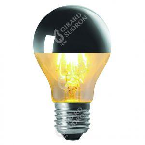 """Standard """"Calotte Argentée"""" A60 E27 750lm LED 6W Dimmable"""
