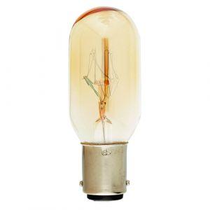 Lampe Tube pour réfrigérateur Incan. 15W BA15D 2750K 110Lm