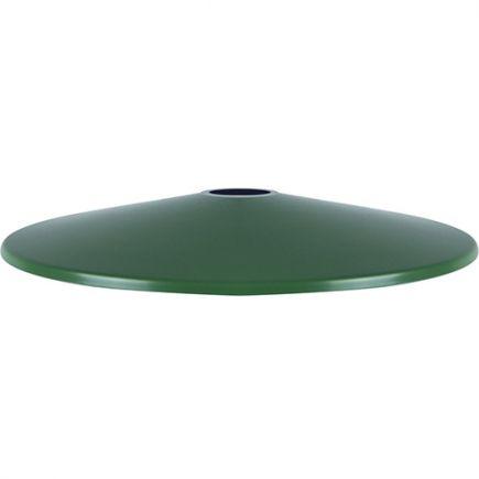 Abat-jour métal évasé ø300mm vert sauge satiné