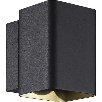 Iwan - Applique muraleavec LED intégrées 104x129x132 10W 3000K 400lm 80° gris foncé
