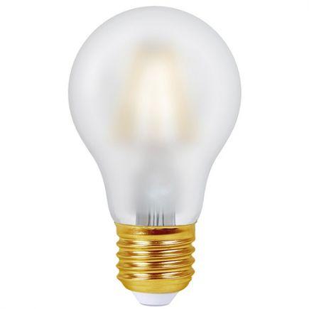 Ecowatts - Standard A60 Filament LED 8W 960lm E27 2700K Satinée