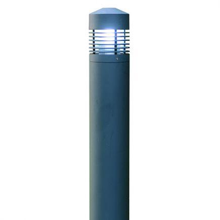 Borne Dam - Potelet Ø170x800mm E27 60W max. Gris