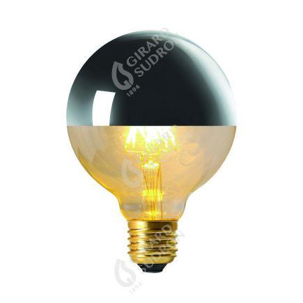 "Globe ""Calotte Argentée"" LED 8W E27 G95 2700k Dim"