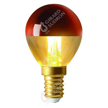 """Sphérique """"Calotte Bronze"""" E14 LED 4W 350lm 2700k"""