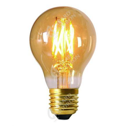 Standard Filament DROIT LED 8W 600lm E27 2200K Dimmable Ambre