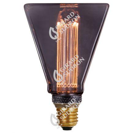 VIS VERSA Ampoule LED smoky triangle E27 D31,5mm 4W 100lm 2000K