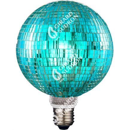 Ampoule VIS VERSA Mosaïque Bleue E27 G125 LED 3,5W 40lm 6000K Dimmable