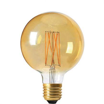 Globe G95 Filament LED 4W E27 2100K 260Lm Dim. Amb. 3125467166001