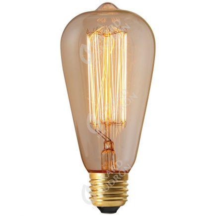 Edison Filament Métallique Droit 24W E27 2200K Claire