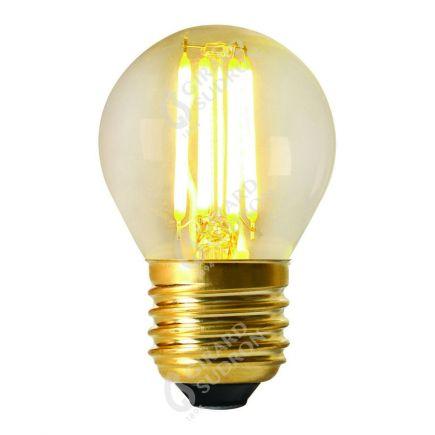 Sphérique G45 Filament LED DROIT 4W E27 4000K 380lm Dimmable Claire