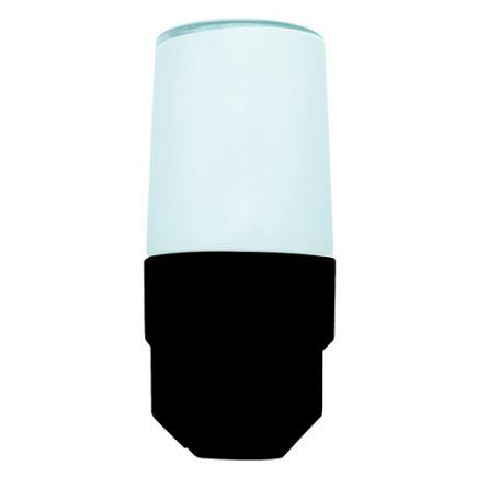 PORCELAINE VINTAGE Applique E14  verrerie opaline Noir