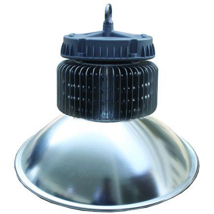 FS Nara - Armature industrielle LED IP 65 Ø500x474 90W 4000K 9900lm 120° argent Dim