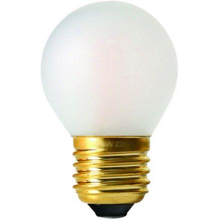 Sphérique G45 Filament LED 4W E27 2700K 330Lm Dim. Mat.