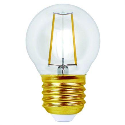 EcoWatts - Sphérique Filament LED 4W E27 2700K 420lm Claire