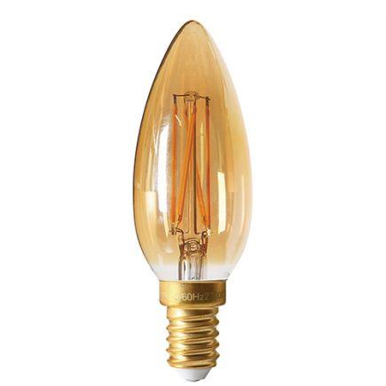 Flamme C35 Filament LED 4W E14 2200K 260Lm dim. Amb.