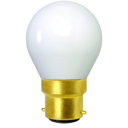 OPALINE Sphérique G45 Filament LED 4W B22 2700K 400Lm
