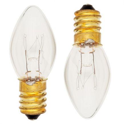 Lot de 2 Lampes Veilleuse Incan. 7W E14 2750K 40Lm