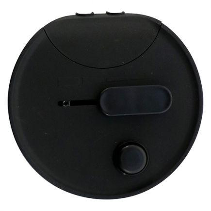 Variateur à Pied Rond Noir 250W/4-60 Led