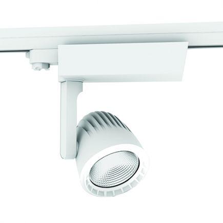 FS Sassa - Projecteur sur rail LED Ø110x237 40W 3000K 3400lm 36° blanc