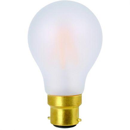 Standard A60 Filament LED 8W B22 2700K 780Lm Dim. Mat.