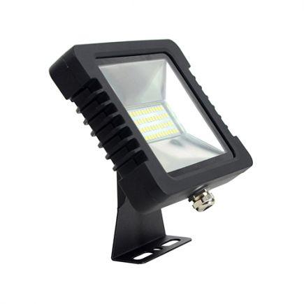 Yonna - Projecteur LED IP65 200x148.5x34.5 30W 4000K 2280lm 110°noir