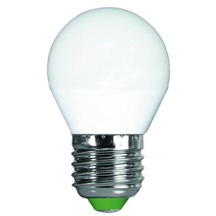 Sphérique G45 LED 330° 5W E27 2700K 400Lm Dim.