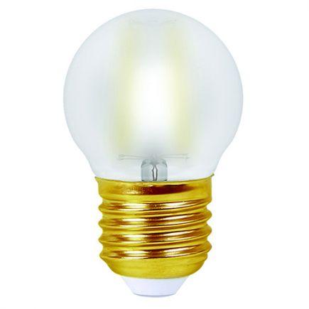 FS EcoWatts - SPHERIQUE FIL. LED 4W E27 2700K 400lm SATINEE BLIST  3125469986539