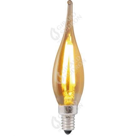 Flamme GRAND SIECLE GS1 Filament LED 1W E10 80lm 2500K Ambrée