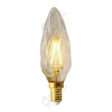 Flamme F6 Filament LED 2W E14 2700k 220lm Claire