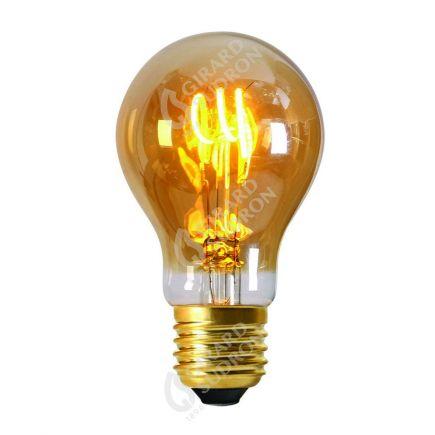 Standard A60 Filament LED 3 LOOPS 3W E27 2000k 150lm Ambrée