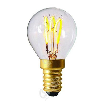 Sphérique Filament LED 3 LOOPS 2W G45 E14 2200k 100lm Claire